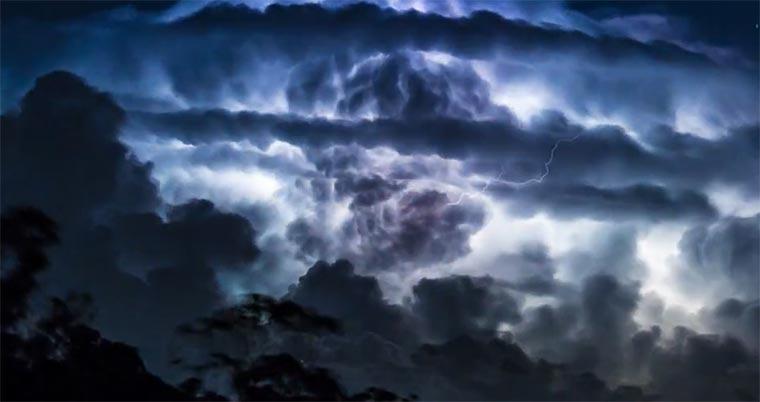 Sturmlapse thunderstorm-timelapse