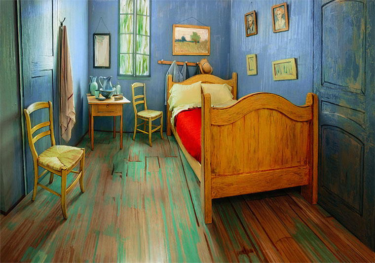 "Ihr könnt in Van Goghs ""Bedroom"" übernachten vanGogh-the-bedroom-airbnb_01"