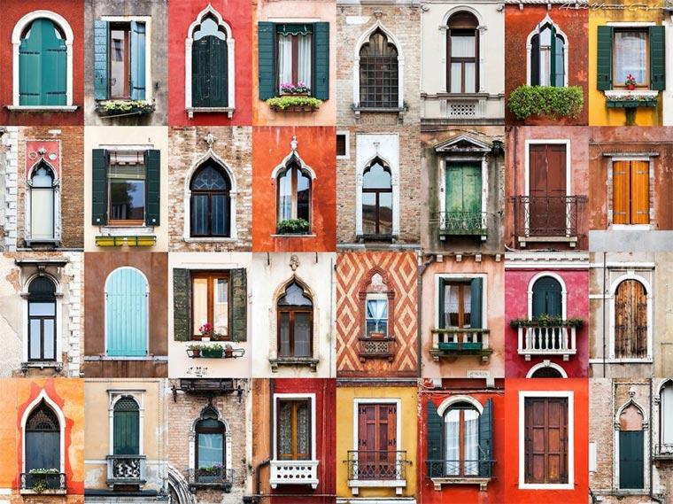 Eine Welt voll Türen und Fenster