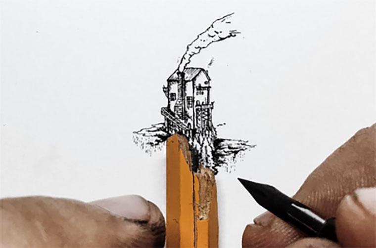 Mini-Zeichnungen: Christian Watson