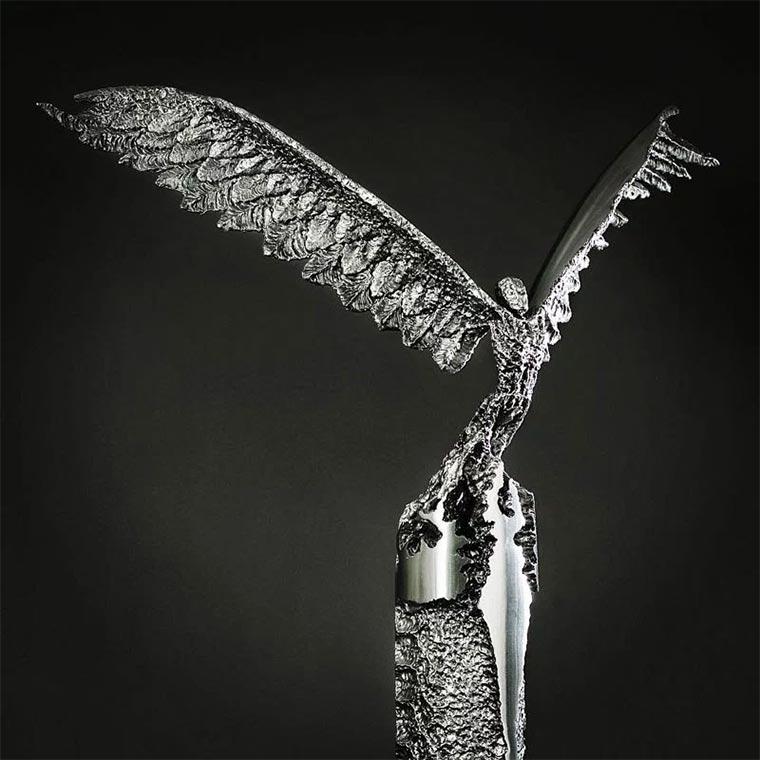 Metallskulpturen von David Madero David-Madero_04