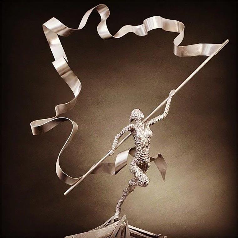 Metallskulpturen von David Madero David-Madero_08