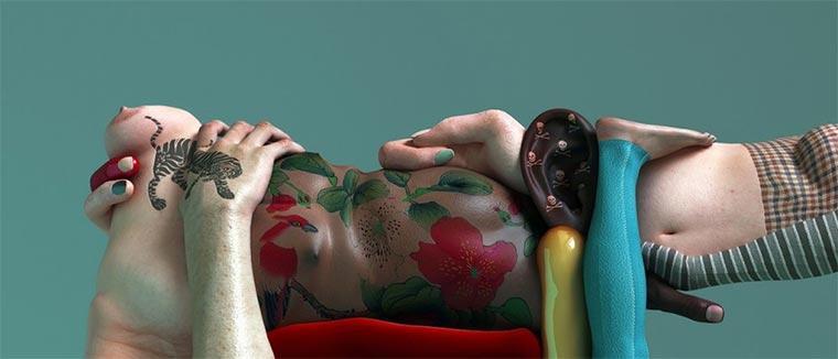 Die kuriosen Körperwelten des Kim Joon Kim-Joon_06