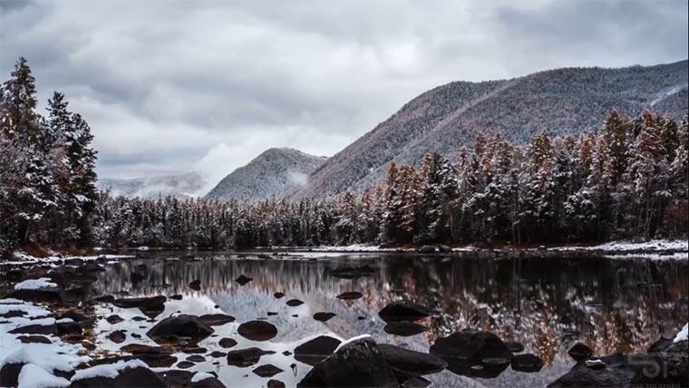 Wunderschönes Timelapse: Lake Baikal