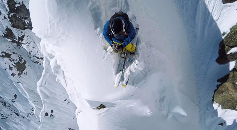 Nicolas Falquet rockt das Matterhorn Line-of-the-winter
