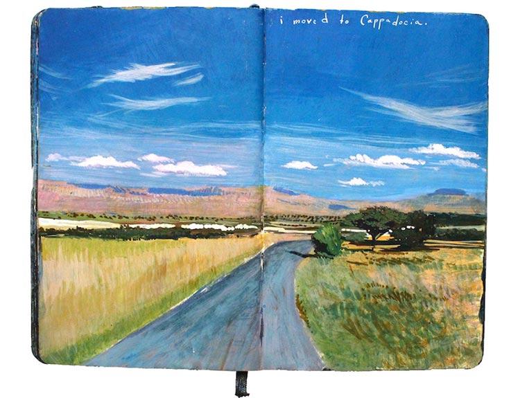 Missy H. Dunaway malt ihr Tagebuch Missy-H-Dunaway_02