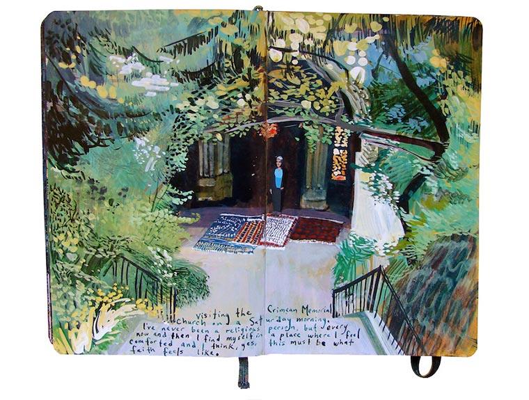Missy H. Dunaway malt ihr Tagebuch Missy-H-Dunaway_03