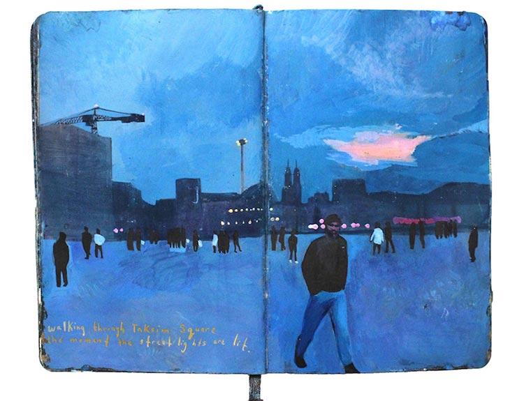 Missy H. Dunaway malt ihr Tagebuch Missy-H-Dunaway_04