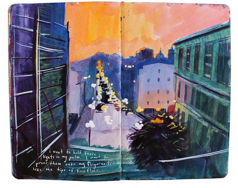 Missy H. Dunaway malt ihr Tagebuch Missy-H-Dunaway_05