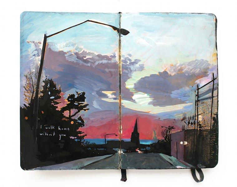 Missy H. Dunaway malt ihr Tagebuch Missy-H-Dunaway_06