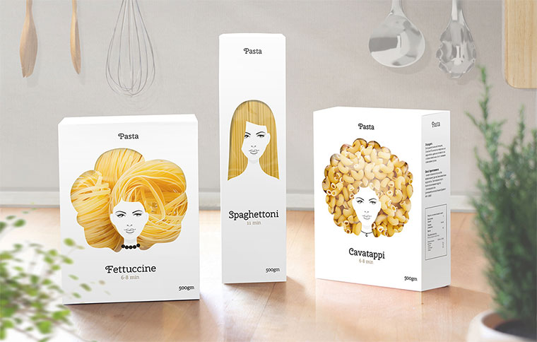 Perfekte Pasta-Packungen Pasta-Packing-Concept_01