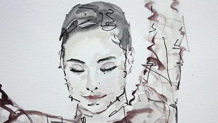 Musikvideo aus 1.250 gemalten Bildern Ralf-Hildenbeutel-Disco