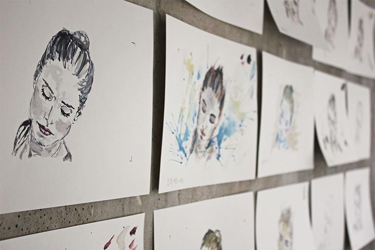 Musikvideo aus 1.250 gemalten Bildern Ralf-Hildenbeutel-Disco2