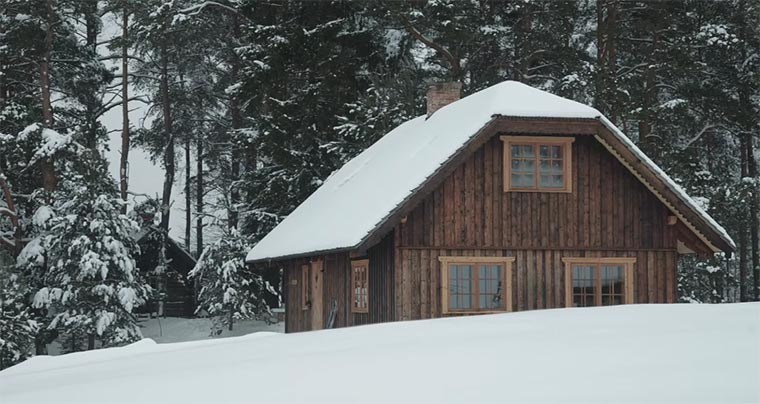Aus Wald wird Haus The-Birth-of-a-wooden-house