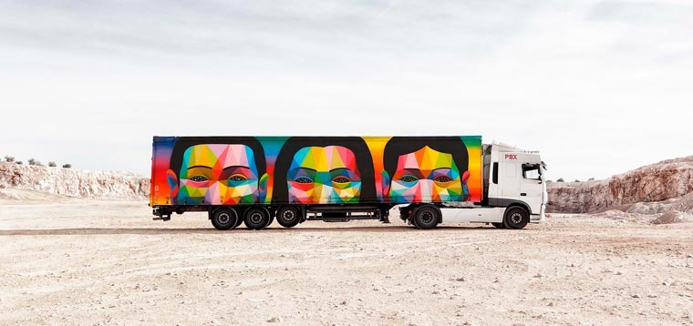 Street Art trifft Lastwagen Truck-Art-Project_10