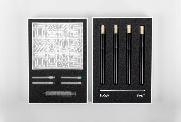 3D Font aus physischen Prozessen Typografie-und-Materialitaet3
