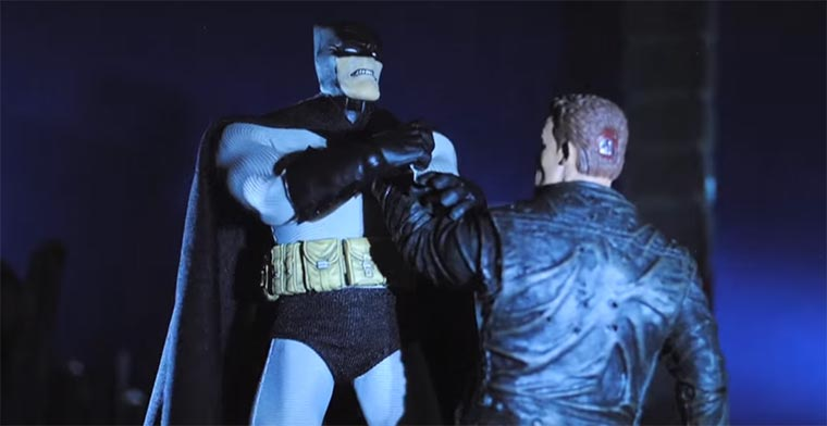 Stopmotion: Batman vs. Terminator