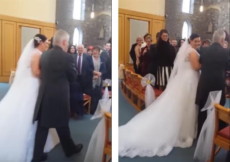 Kleiner Junge als Weddingcrasher