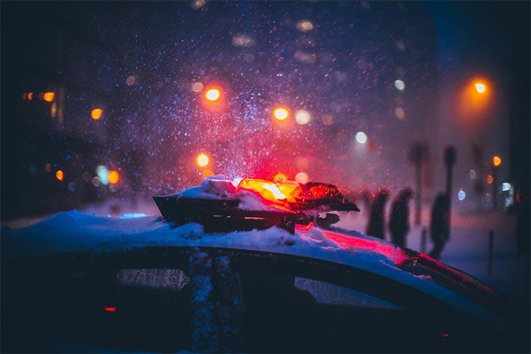 Inmitten der Snowpocalypse