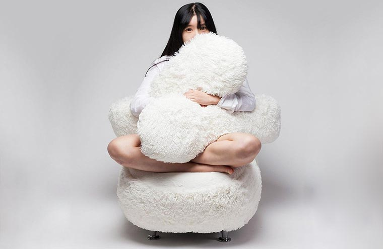 Dieser Sessel umarmt dich