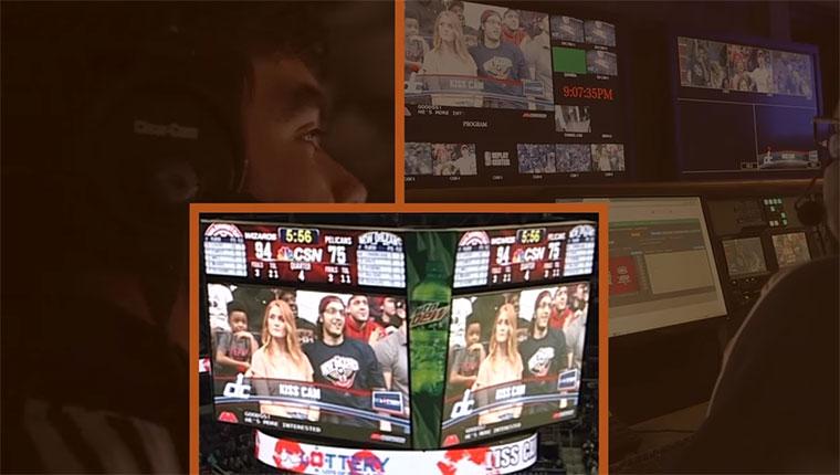 So funktioniert die 'Kiss Cam' im Stadion kiss-cam