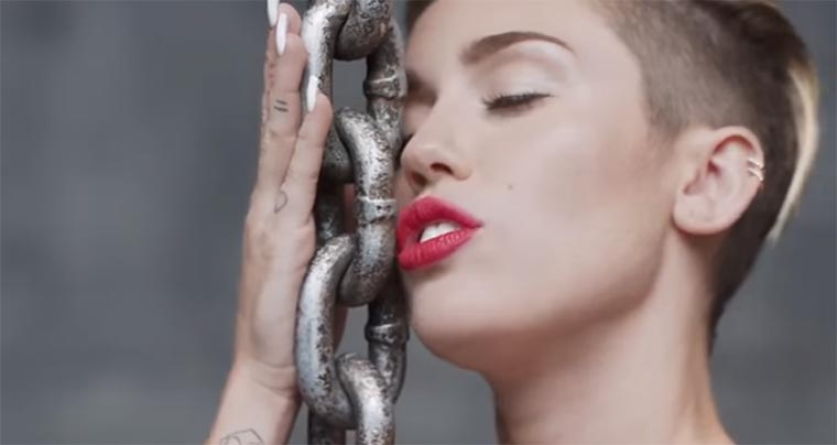 Wrecking Ball ohne Musik musicless-wrecking-ball