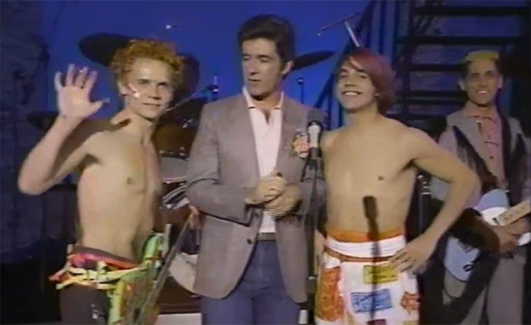 Der erste TV-Auftritt der Chili Peppers
