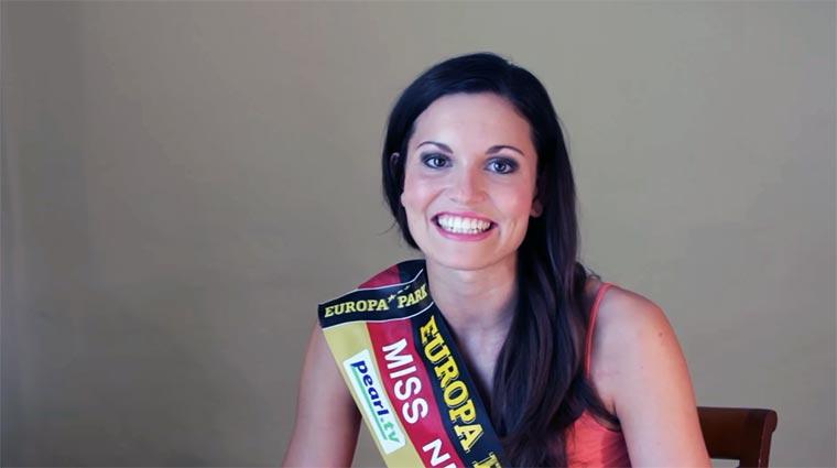 Miss Niedersachsen 2016 erzählt einen Witz…