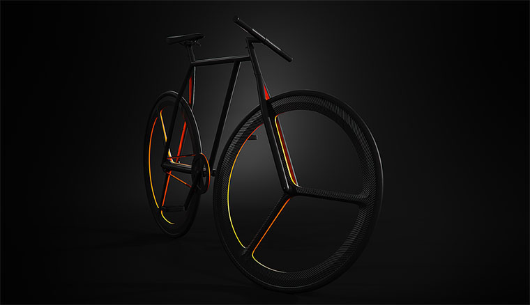 Schickes Fahrrad-Konzept: BAIK BAIK_01
