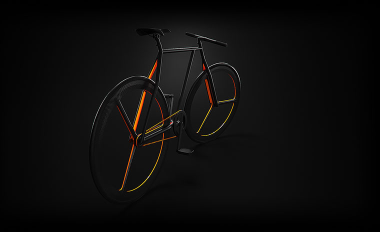 Schickes Fahrrad-Konzept: BAIK BAIK_03