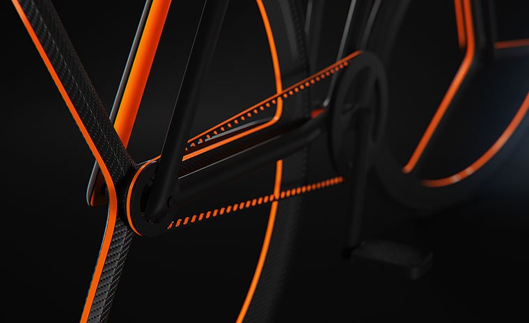 Schickes Fahrrad-Konzept: BAIK BAIK_04