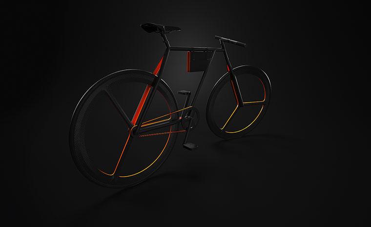 Schickes Fahrrad-Konzept: BAIK BAIK_09