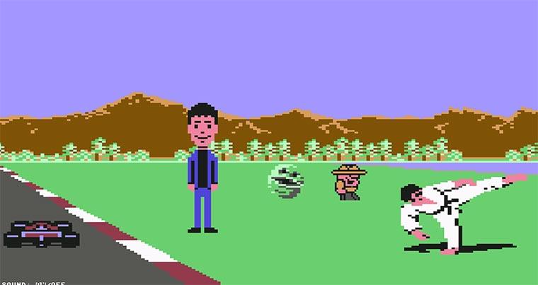 C64 Games Mashup C64-Hommage