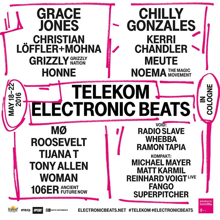 Grace Jones ist Headlinerin beim Telekom Electronic Beats Festival 2016 Electronic-Beats-Festival-2016_02