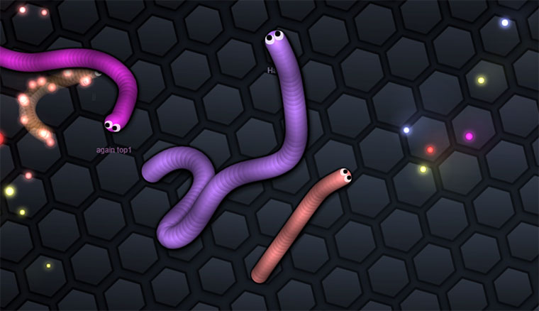 Multiplayer Online Snake MMOsnake