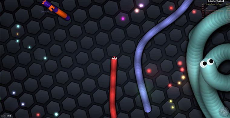 Multiplayer Online Snake MMOsnake2