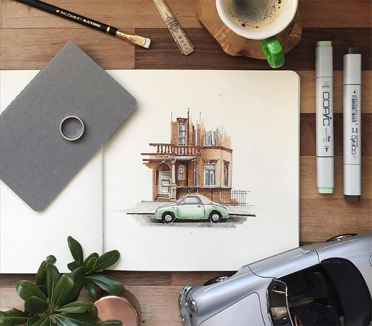 Zeichnungen: Mustafa Yesil Mustafa-Yesil_01