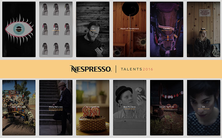 Die 20 nominierten 9:16-Kurzfilme der Nespresso Talents 2016 Nespresso-Talents-2016_shortlist_01