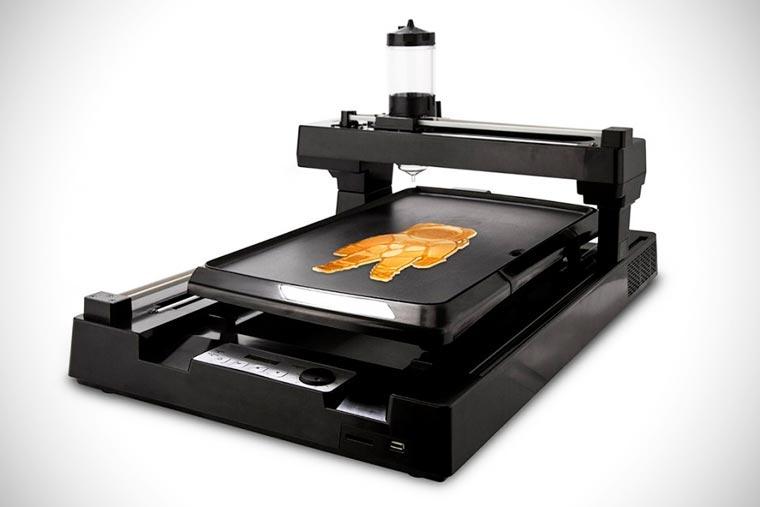 Der Pfannkuchen-Drucker