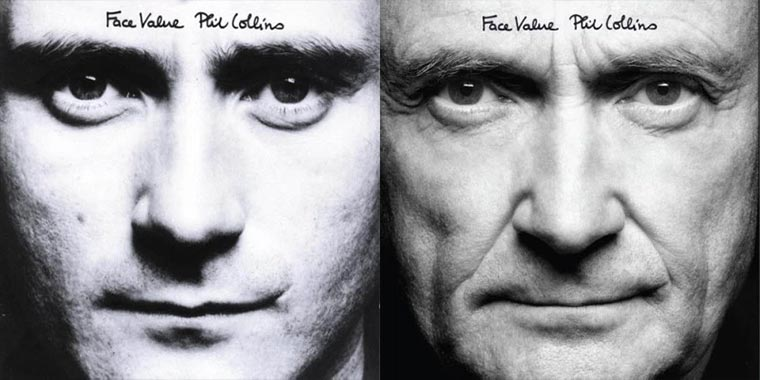 Phil Collins hat seine Albumcover nachgestellt Phil-Collins-Take-A-Look-At-Me-Now_Covers_04