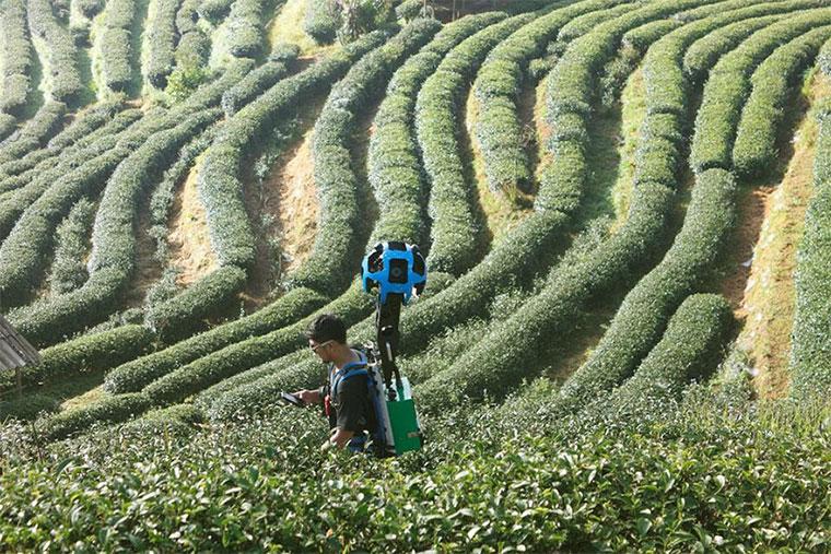 500km per Street View durch Thailands Landschaften