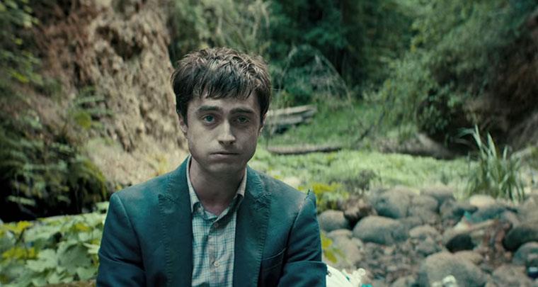 Daniel Radcliffe als fast-tote Insel-Anschwemmung Swiss-Army-Man