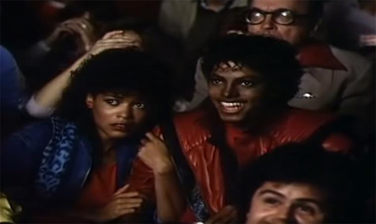 "MJs ""Thriller"" ohne Musik Thriller-musicless"
