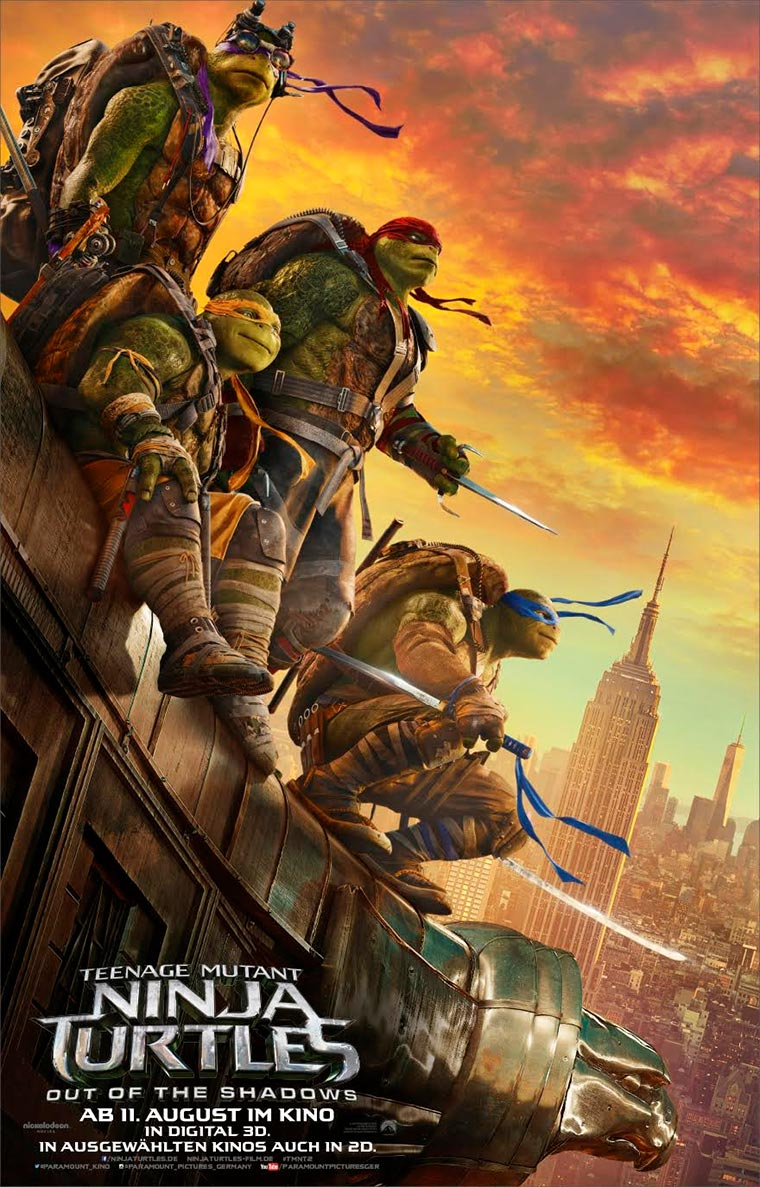 Neuer Teenage Mutant Ninja Turtles 2-Trailer Turtles-2-poster