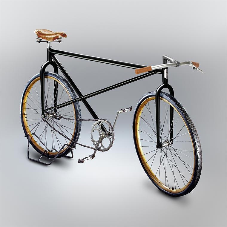 Designer setzt gezeichnete Fahrräder um Velocipedia_03