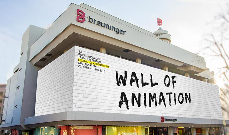 """Wall of Animation"" wird größte Trickfilm-Leinwand Deutschlands Wall-of-Animation_01"