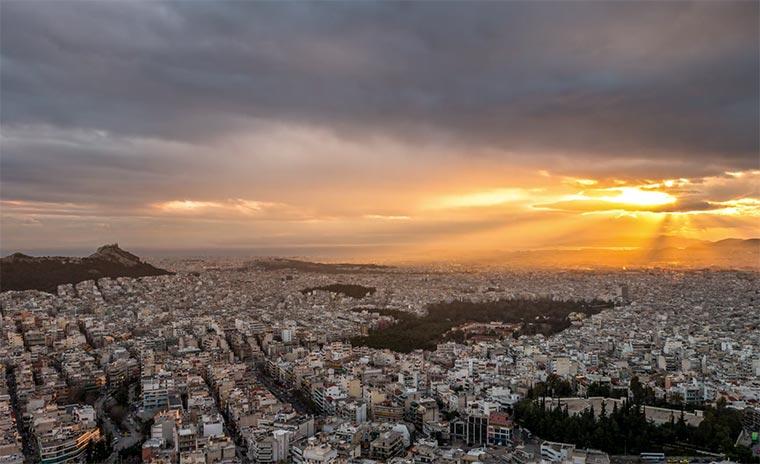 Die Schönheit Athens