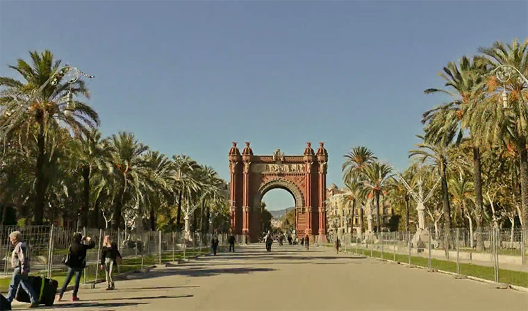 Barcelona Hyperlapse