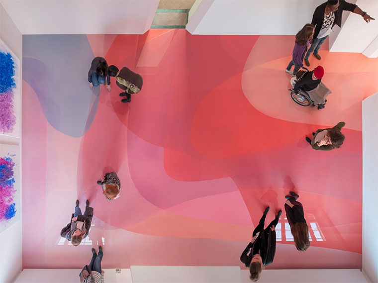 Wenn der Museumsboden das Kunstwerk ist bunter-museumsboden_01