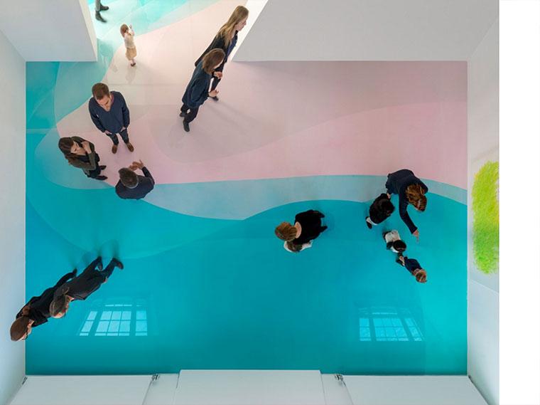 Wenn der Museumsboden das Kunstwerk ist bunter-museumsboden_04